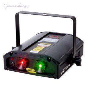 laser na párty Galaxian 3D