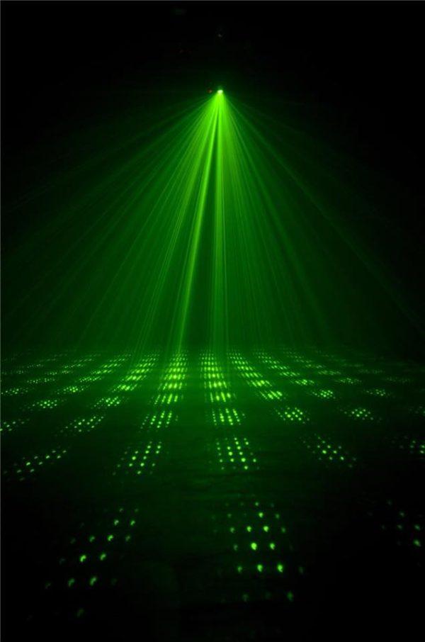 laserová show na párty, Galaxian 3D