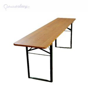 pivní stůl 220×50